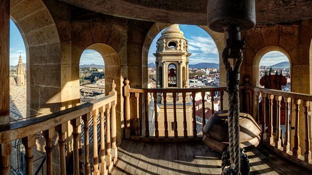 Campanario de la catedral de Pamplona