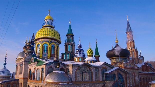 El templo de todas las religiones donde no se reza a ningún Dios