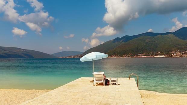 Bahía de Kotor, en Montenegro