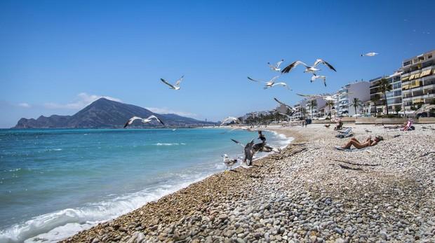 La playa que cambió el centro histórico de Altea