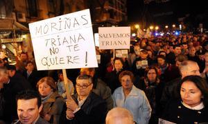 Tres mil trianeros dicen no a San Jacinto peatonal y exigen otra movilidad