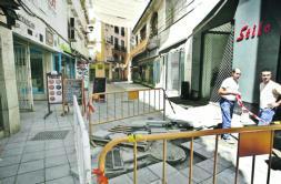 Los comerciantes denunciarán al Ayuntamiento por «acoso y derribo»